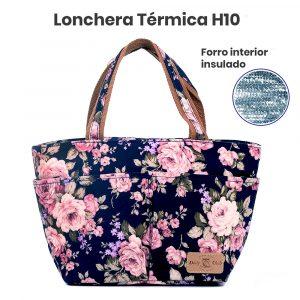 Lonchera Terminca H10 Flores02 frente