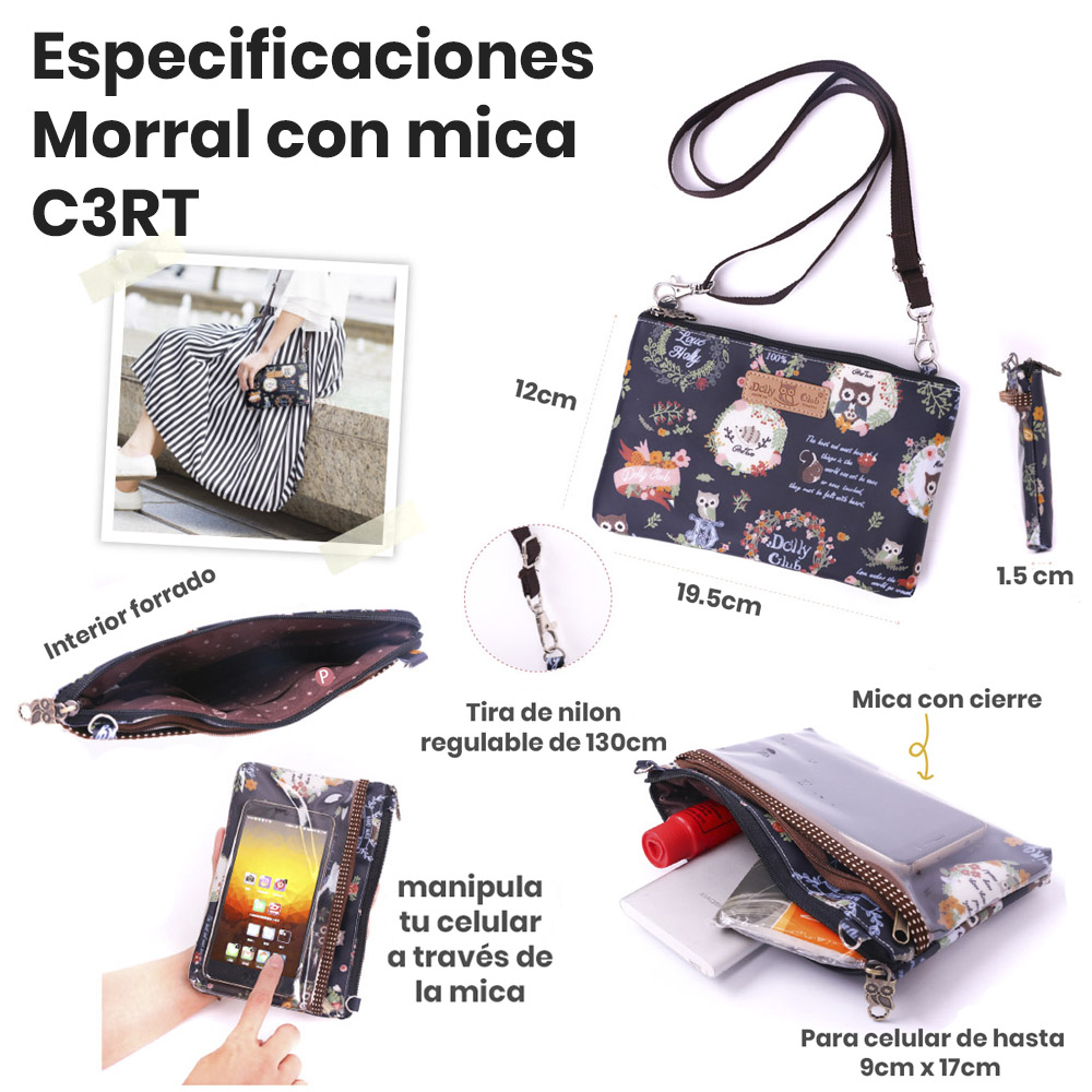 especificaciones morral C3RT