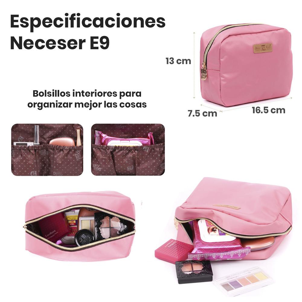especificaciones neceser E9