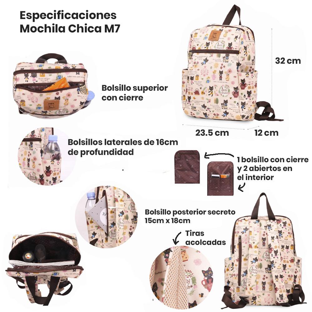 especificaciones mochila 7